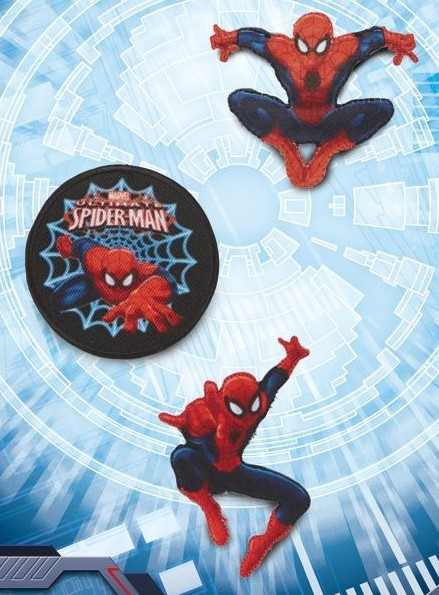 Marvel Spider-Man, 3er Set Applikationen