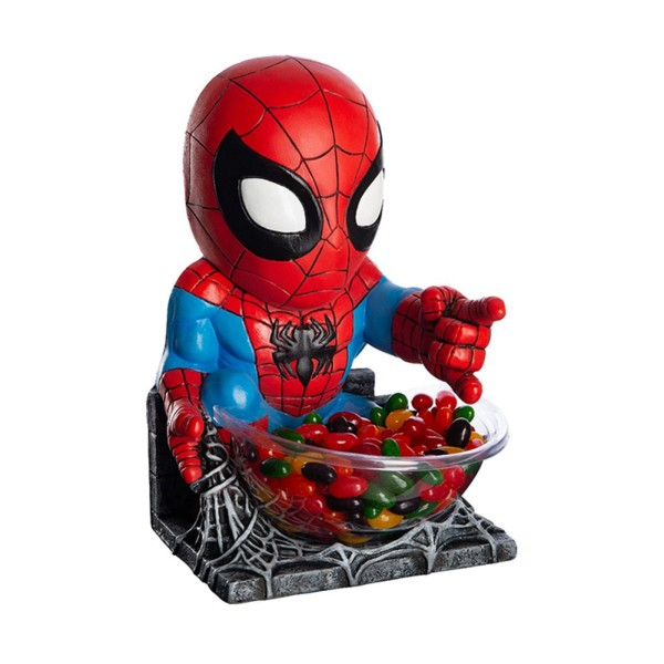 Rubies 368897 - Spider-Man, Small Candy Bowl Holder, Spiderman Marvel Avengers
