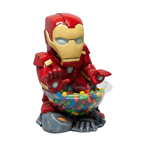 Rubies 369078 - Iron Man, Small Candy Bowl Holder, Marvel Avengers