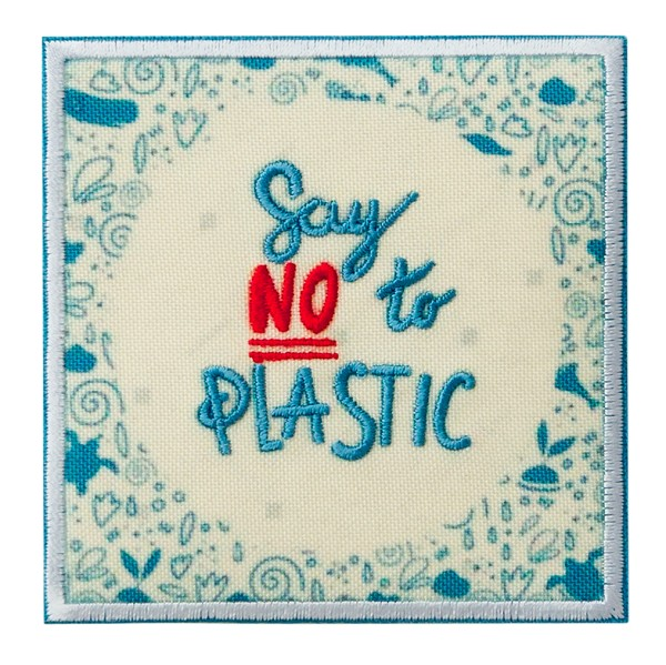 Mono Quick 18001 - Say no to Plastic RECYCL-PATCH