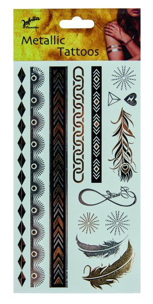 Jofrika 704080 - Metallic Tattoos Eternity