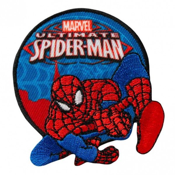 Mono Quick 16252 Spider-Man Patch, Applikation, Flicken Bügelbild, Marvel Avengers, Spiderman