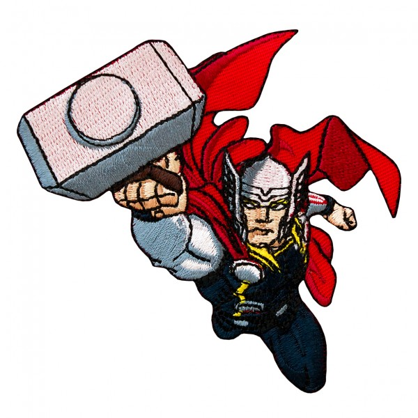 Mono Quick 16306 Thor, Applikation, Flicken Bügelbild, Marvel Avengers