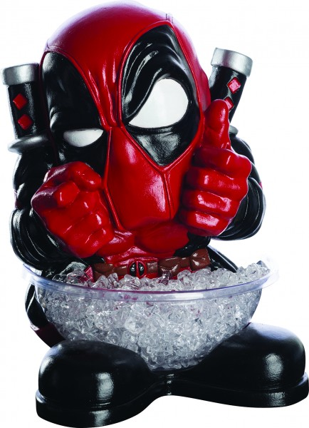 Rubies 3200794 - Deadpool, small CANDY BOWL HOLDER, Halbstatue + Schüssel