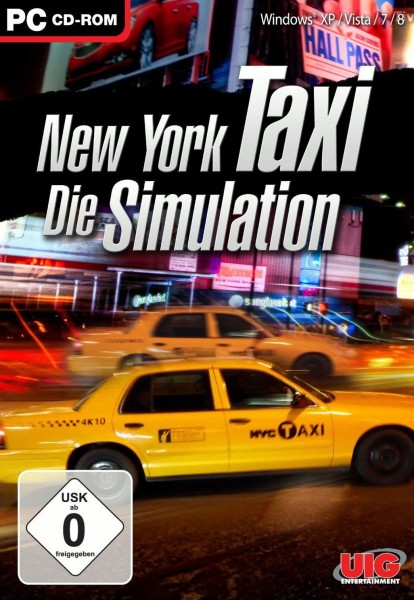 New York Taxi - Die Simulation (PC Windows XP / Vista / 7 / 8, 2012, DVD-Box)