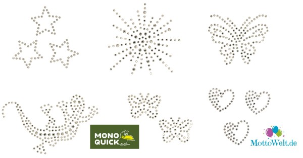 Mono Quick Strass Applikationen
