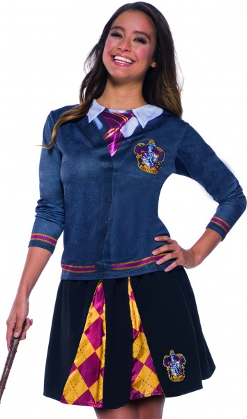 Rubies 339041 - Harry Potter Gryffindor Skirt, Rock, Schuluniform Hogwarts, STD