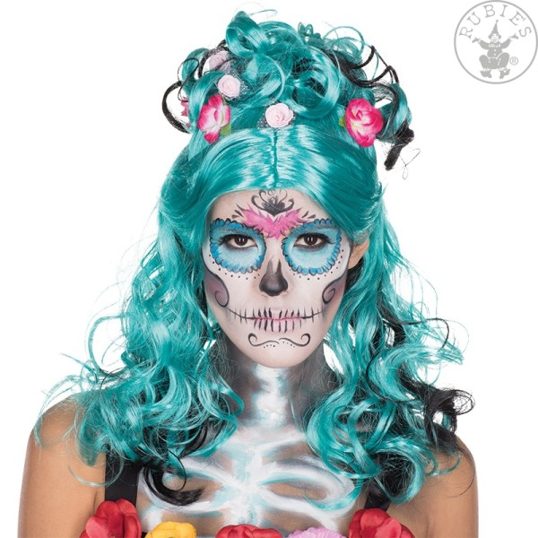 Rubies 54411 - Day of the Dead Perücke