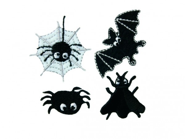 Mono Quick 10063 Halloween Flicken 4er Set Applikation