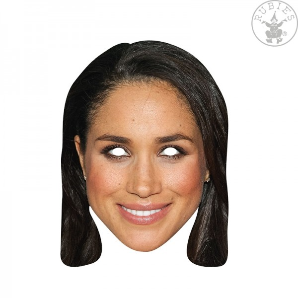Rubies 6240414 Card Mask - Meghan Markle