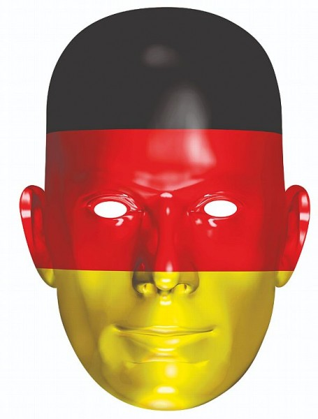 Rubies 6240421 - Germany Fan, Maske aus Pappe