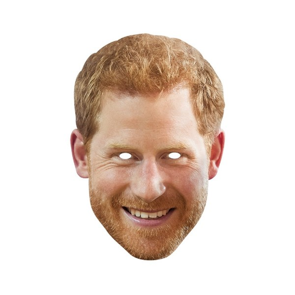 Rubies Card Mask - Prince Harry
