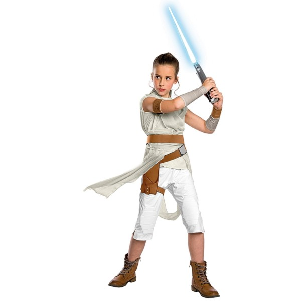 Rubies 3701253 - Rey Deluxe EP. IX- Child, Star Wars
