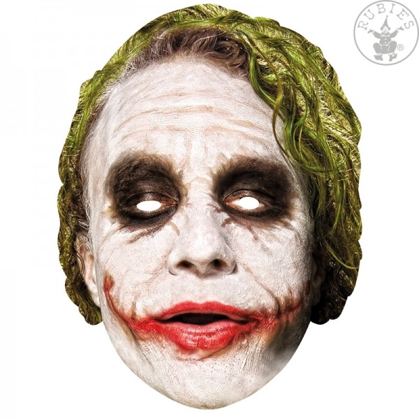 Rubies 336671 - The Joker, Pappmaske mit 3D Aufdruck