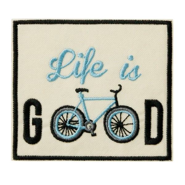 Mono Quick 16004 - Life is GOOD RECYCL-PATCH