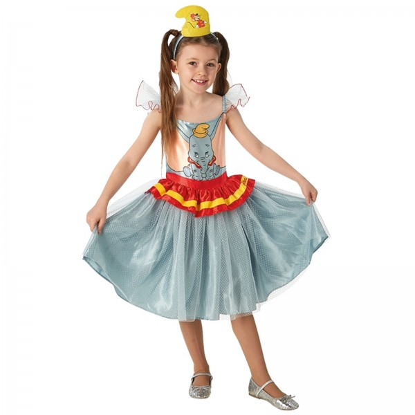 Rubies 3300265 - Dumbo Tutu Dress - Kinder Kostüm Kleid